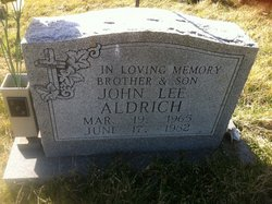 John Lee Aldrich, Jr