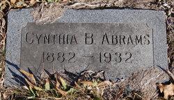 Cynthia B Abrams