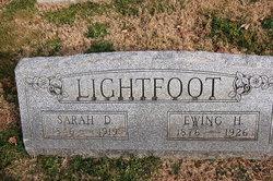 Sarah D. <i>Pate</i> Lightfoot