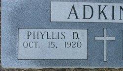 Phyllis Christine <i>Denton</i> Adkins