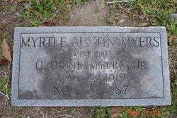 Myrtle <i>Austin</i> Myers