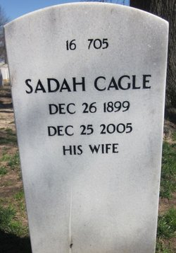 Sadah <i>Cagle</i> Quesenberry