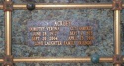 Dorothy Verona Muv <i>Herbert</i> Ackley