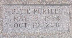 Elizabeth Betie <i>Purtell</i> Hill
