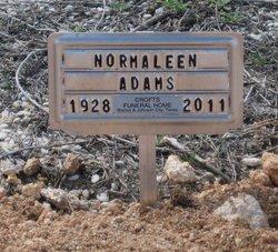 Norma Normaleen Mimi <i>Jennings</i> Adams