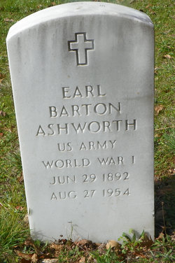 Earl Barton Ashworth