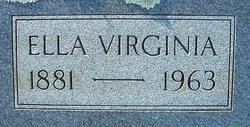 Ella Virginia Ellie <i>Paschal</i> Amason