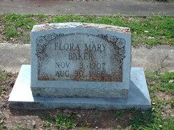 Flora Mary <i>Johnston</i> Baker