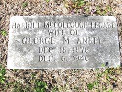 Harriet McCollough <i>Legare</i> Ansel