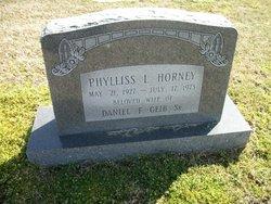 Phyllis L <i>Horney</i> Geib