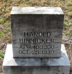 Harold Binnicker
