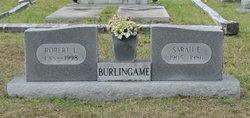 Sarah E. Burlingame