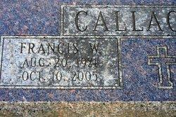 Francis W Callaghan