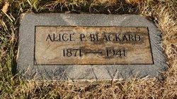 Minnie Alice <i>Porter</i> Blackard