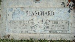 Edward Forrest Blanchard, Sr