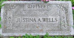 Justina Alice <i>Sadler</i> Wells