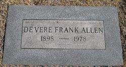 Devere Frank Allen