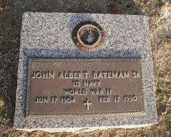 John Albert Bateman, Sr