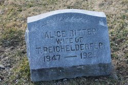 Alice <i>Ritter</i> Reichelderfer