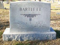 Sarah Isadore Dora <i>Maguire</i> Bartlett