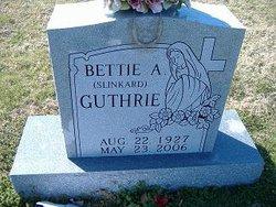 Bettie A. <i>Slinkard</i> Guthrie