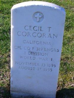 Cecil T Corcoran