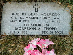 Eleanore M <i>Morrison</i> Anthony
