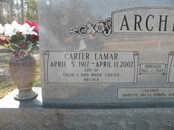 Carter Lamar Archer