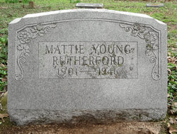 Mattie <i>Young</i> Rutherford