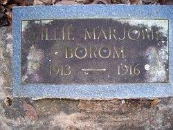 Willie Marjorie Borom