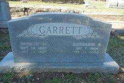 Dudley William Garrett, Sr