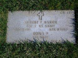Albert F Baker