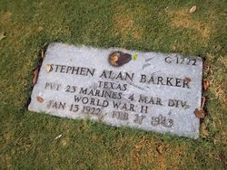 Pvt Stephen Alan Barker