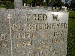 Fred W Clostermeyer