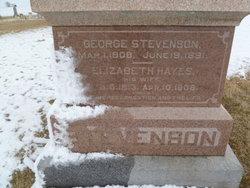 Elizabeth <i>Hayes</i> Stevenson