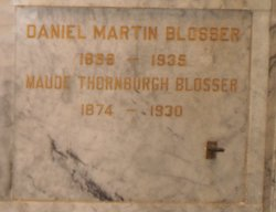 Maude <i>Thornburgh</i> Blosser