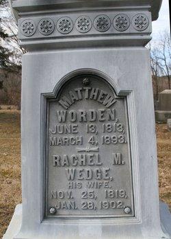 Rachel M <i>Wedge</i> Worden