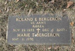 Roland E Bergeron