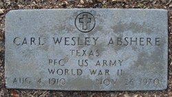 Carl Wesley Abshere