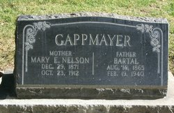 Mary Emily <i>Nelson</i> Gappmayer