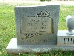 Ernest D. Etier