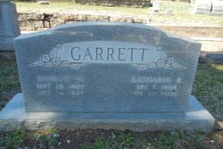Katharin M <i>R</i> Garrett