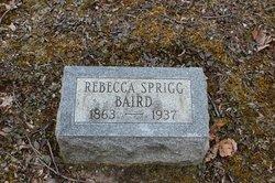 Rebecca <i>Sprigg</i> Baird