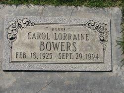 Carol Lorraine Ronne Bowers