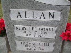 Thomas Clem Allan