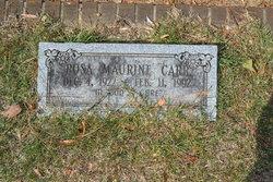 Rosa Maurine Carr