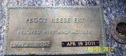 Peggy Joan <i>Reese</i> Fry