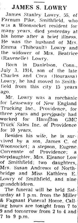 James Stanley Lowry