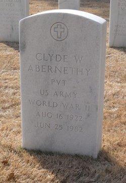 Clyde W Abernathy
