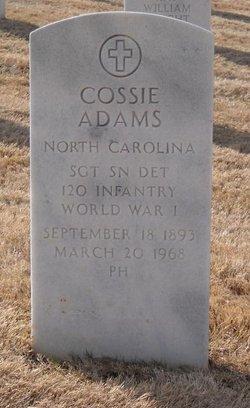 Sgt Cossie Adams